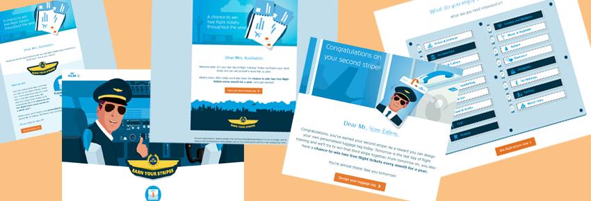 """KLM campagne """"Earn your Stripes"""" genomineerd voor Dutch Interactive Award"""